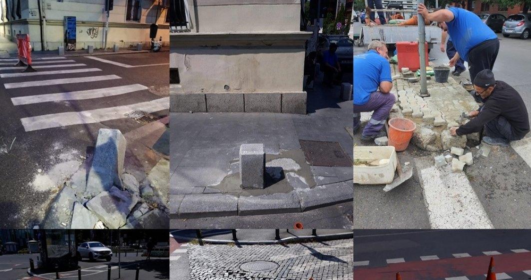 Clotilde Armand anunță o campanie masivă de repararea a trotuarelor