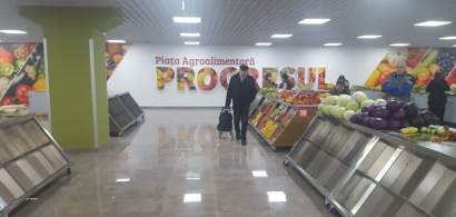 FOTO/VIDEO Piata Progresul, cu scari rulante, spatii de expunere generoase si...