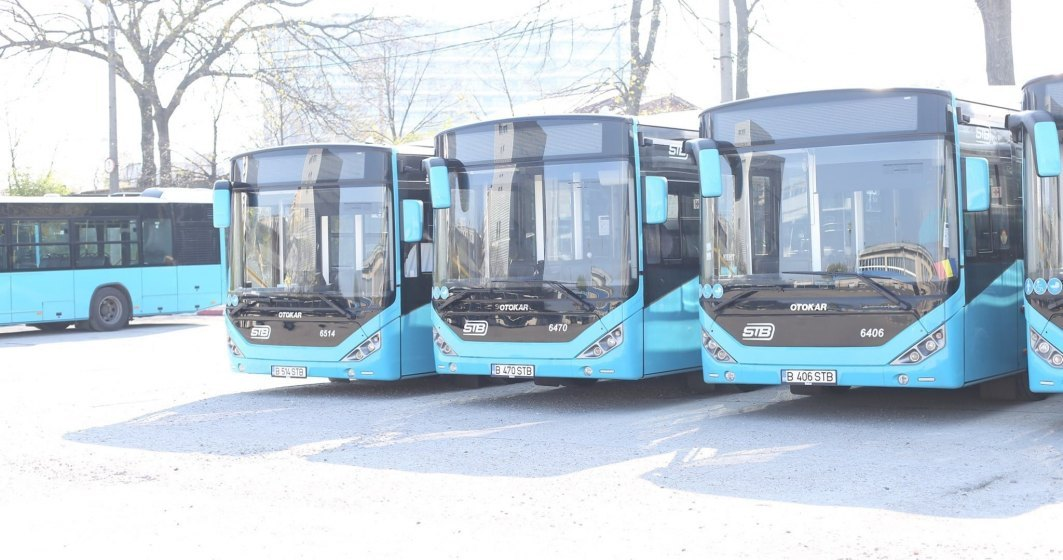 STB desființează o linie de autobuz spre Aeroportul Otopeni