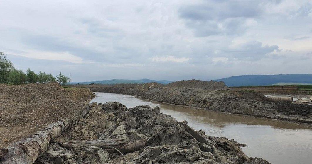 Amenzi de 2 milioane lei date de Apele Române: ce au descoperit inspectorii