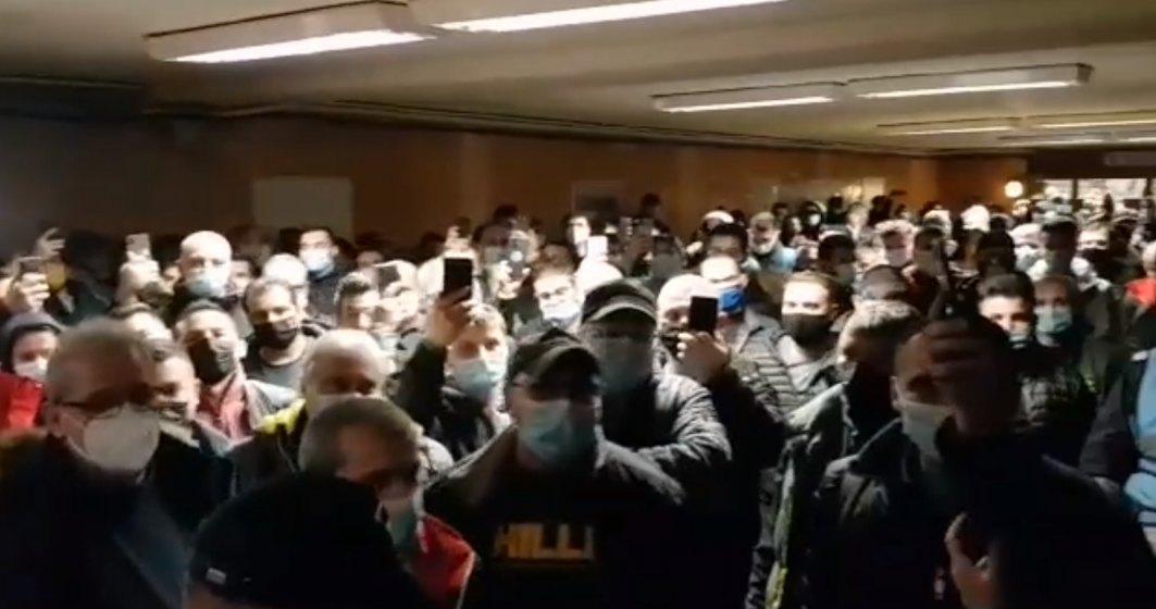 Mesajul trimis de sindicaliștii de la metrou care protestează în subteran