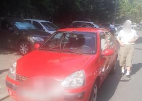 Un șofer de 90 ani a blocat o stradă din București pentru că a uitat drumul...