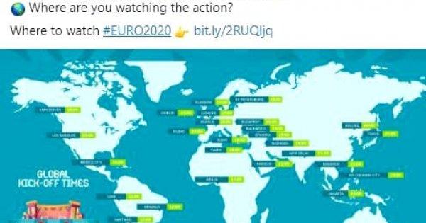 UEFA a confundat Budapesta cu Bucureștiul într-o postare pe Twitter