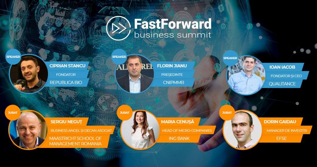 Fast Forward Business Summit: inspiratie, strategii si potentialul de a-ti valida afacerea intr-un concurs de pitch-uri. Are you ready to Go Global?