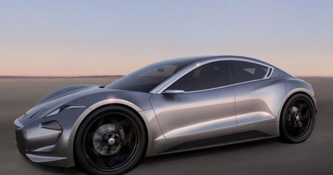 Masina electrica cu incarcare in 9 minute vine in ianuarie: Fisker EMotion va avea o autonomie de 640 de kilometri