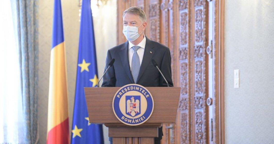 Iohannis: Starea de alertă va fi ridicată atunci când ne vor spune specialiștii că putem continua fără măsurile speciale