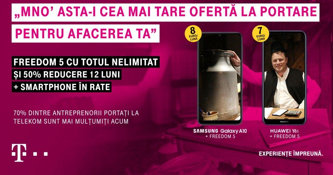 (P) Telekom Romania a lansat o ofertă imbatabilă pentru antreprenori