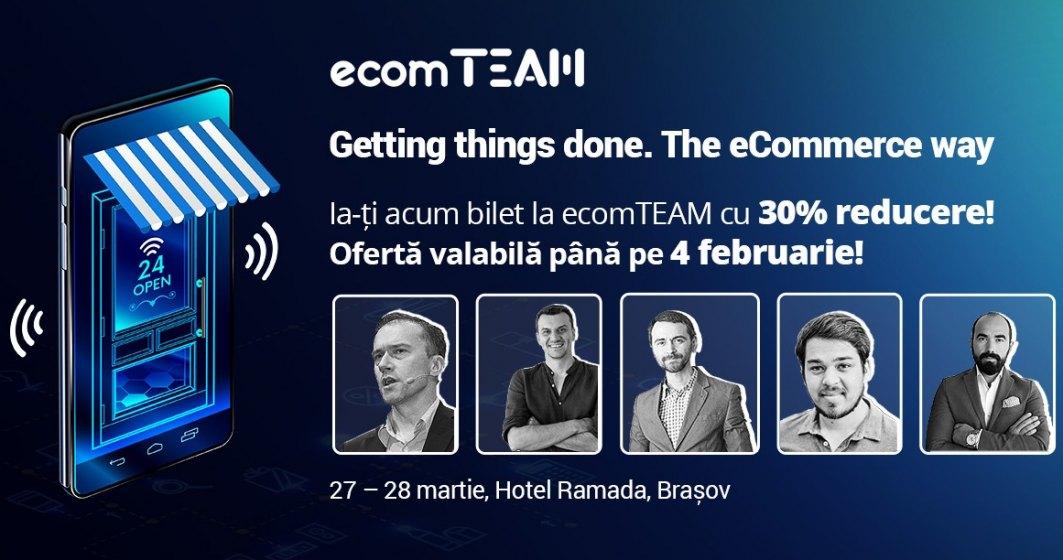 Team-building-ul eCommerce-ului romanesc: ce va pregateste ecomTEAM 2019