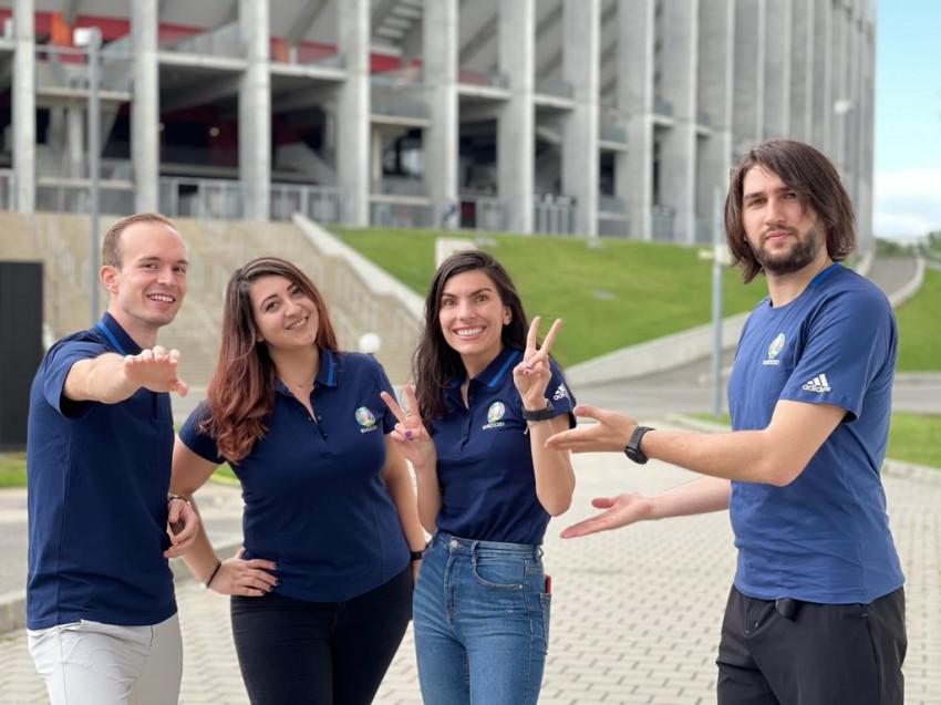 Echipă voluntari Euro 2020, București