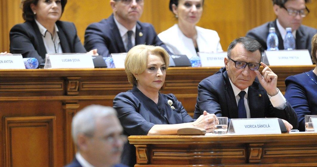 Guvernul Dancila, validat de Parlament