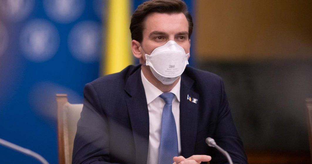 Andrei Baciu: 6 milioane de doze administrate de la începutul campaniei de vaccinare