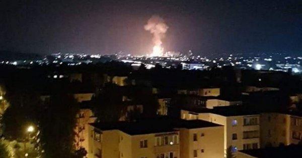Azomureș: Explozia a fost cauzată de cedarea unei porţiuni de sub sudura unei...