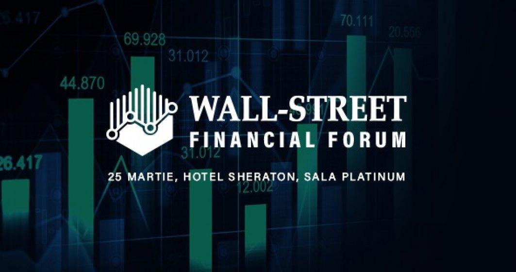 Wall-street Financial Forum: vino să afli soluția potrivită de finanțare pentru afacerea ta, dar și care este starea economiei