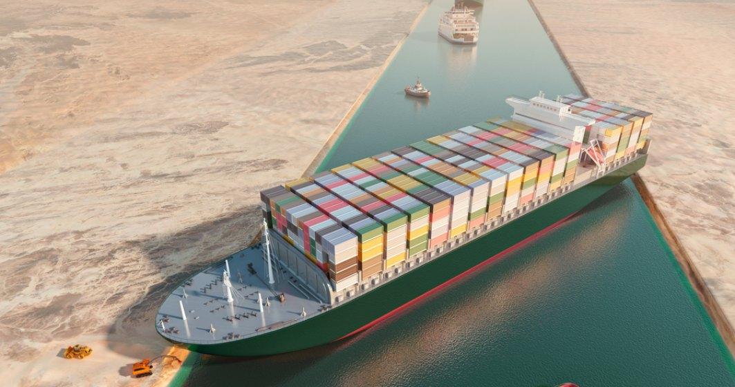 Canalul Suez a fost deblocat după o săptămână. Nava Ever Given, repusă în circulație