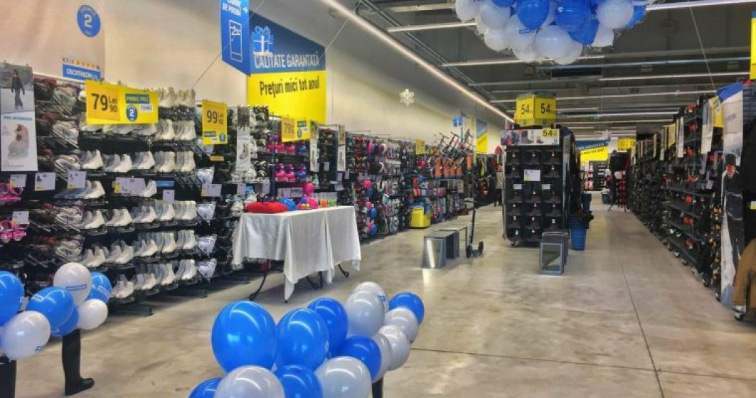 Decathlon investeste 800.000 euro in magazinul din Buzau si ajunge la o retea nationala de 21 de unitati
