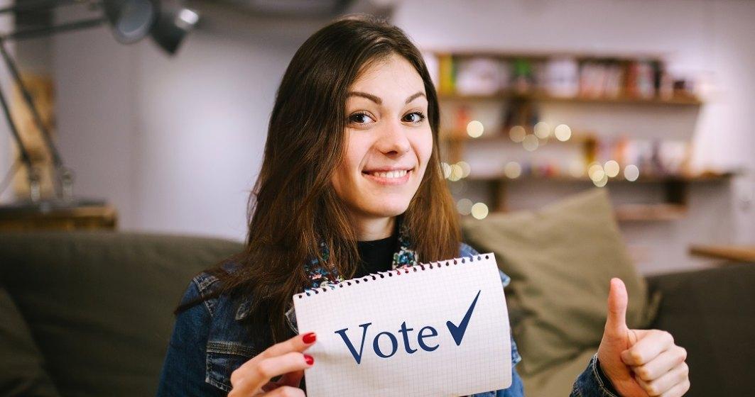 Au ieșit la vot mai mulți tineri cu vârste între 18 și 24 de ani, în timpul ce numărul seniorilor este mai mic comparativ cu 2016