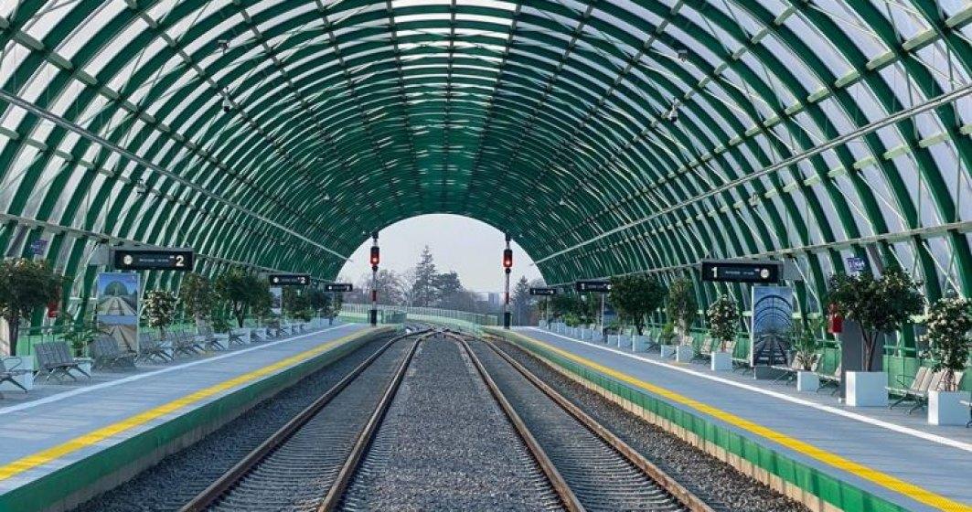 72 de trenuri vor circula 24h/24h, începând din 12 decembrie, între Gara de Nord București și Aeroportul Internațional Henri Coandă București