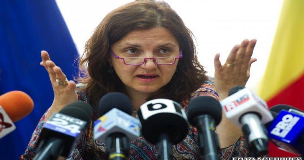 Raluca Pruna: Ministerul Justitiei a platit anul trecut aproape 10 milioane de euro doar pentru chiriile judecatorilor si grefierilor