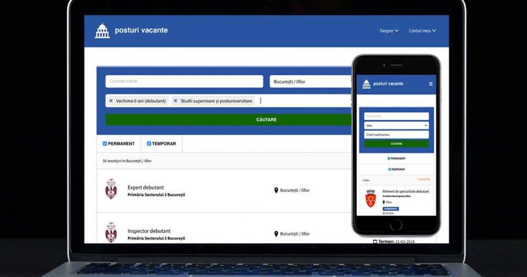 Joburi in administratia publica: un fost consilier guvernamental a lansat un site de recrutari