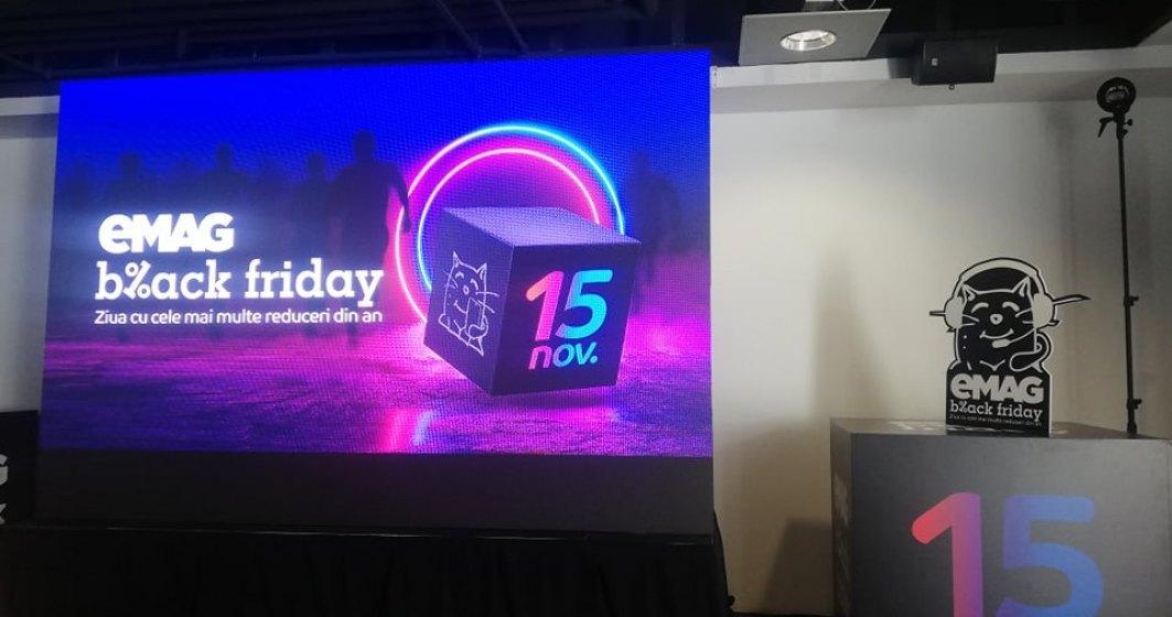 Black Friday 2019 la eMAG a inceput: LIVE TEXT cu ultimele oferte si felul in care decurge evenimentul