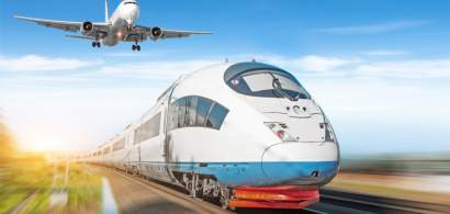 Avion vs. Tren. Cum este mai rapid și ieftin pentru români să meargă în Europa
