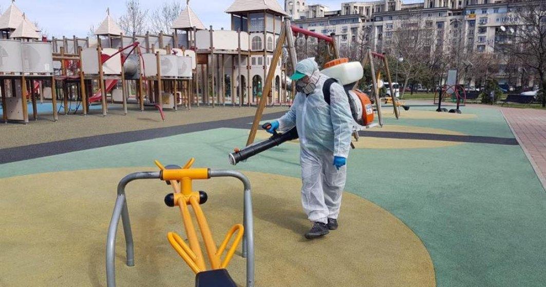 Gabriela Firea: Străzile din centrul Capitalei sunt salubrizate şi spălate zilnic cu substanţe dezinfectante