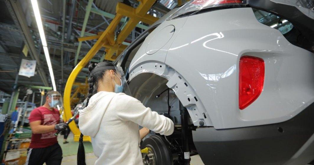 Cum arata activitatea in uzina Ford Craiova in prima zi de repornire a productiei de autoturisme