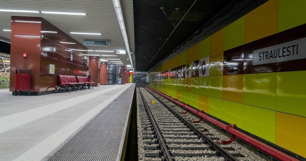 FOTO  Cum arata statiile de metrou de la Straulesti si Laminorului, pe care Metrorex a cheltuit 245 mil. euro