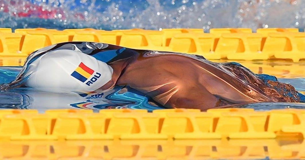 Fenomenul României David Popovici, un alt rezultat remarcabil: s-a calificat în finalele la 100 de metri la Jocurile Olimpice