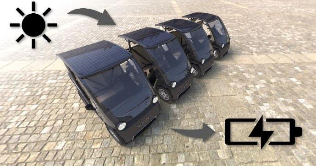 Este gata de lansare un vehicul solar care se încarcă singur