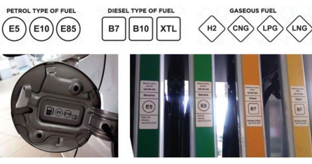 Benzinariile vor avea simboluri noi la pompa din 12 octombrie. Iata cum arata si ce inseamna fiecare