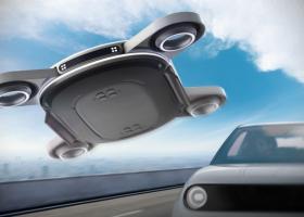 Mașinile electrice ar putea fi reîncărcate în mers de drone
