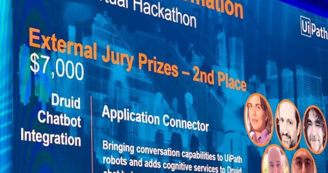 Druid, startup-ul fondat de Liviu Dragan, a castigat doua premii in cadrul evenimentului UiPathForward EMEA