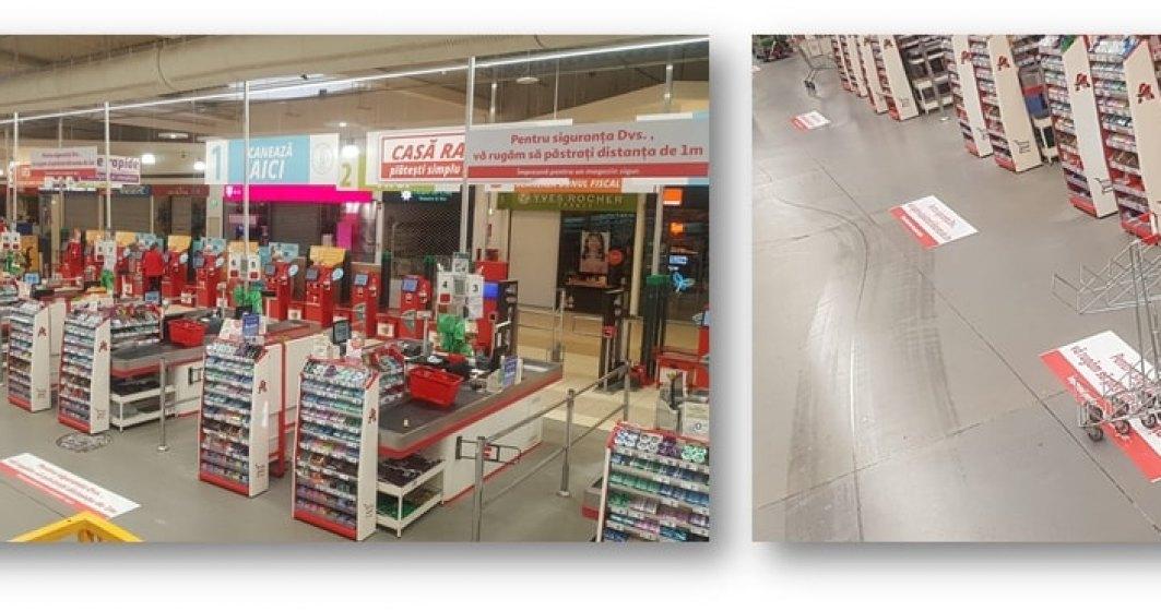 Coronavirus | Auchan Retail România extinde planul de măsuri de protecție în magazinele sale