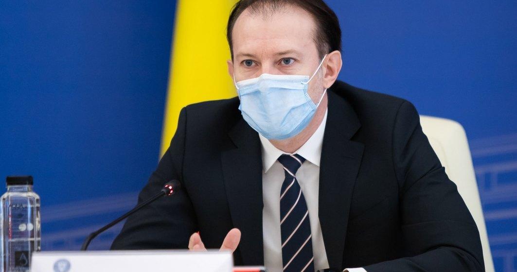 Cîțu: Cerificatul verde va fi valabi în România de la 1 iulie