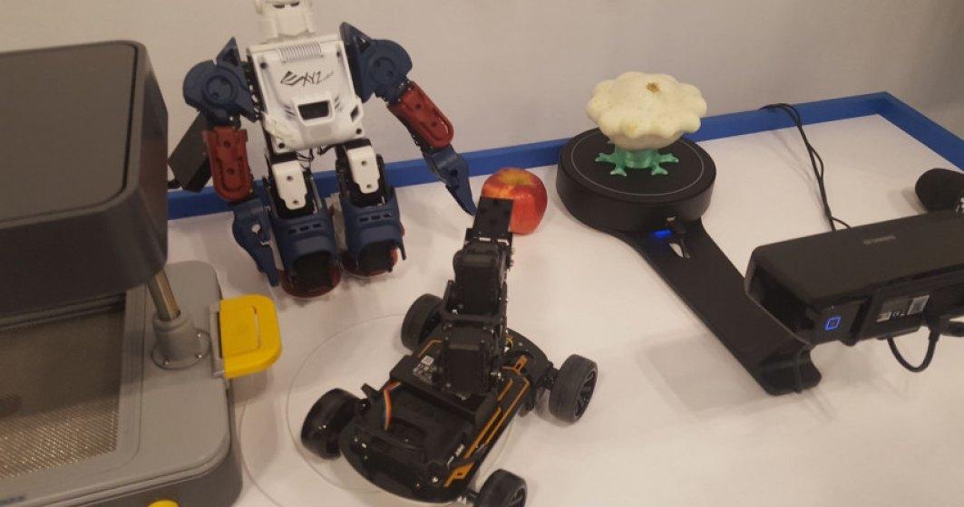 Smart Lab Măgurele lansează cursuri gratuite pentru elevi despre modelarea 3D