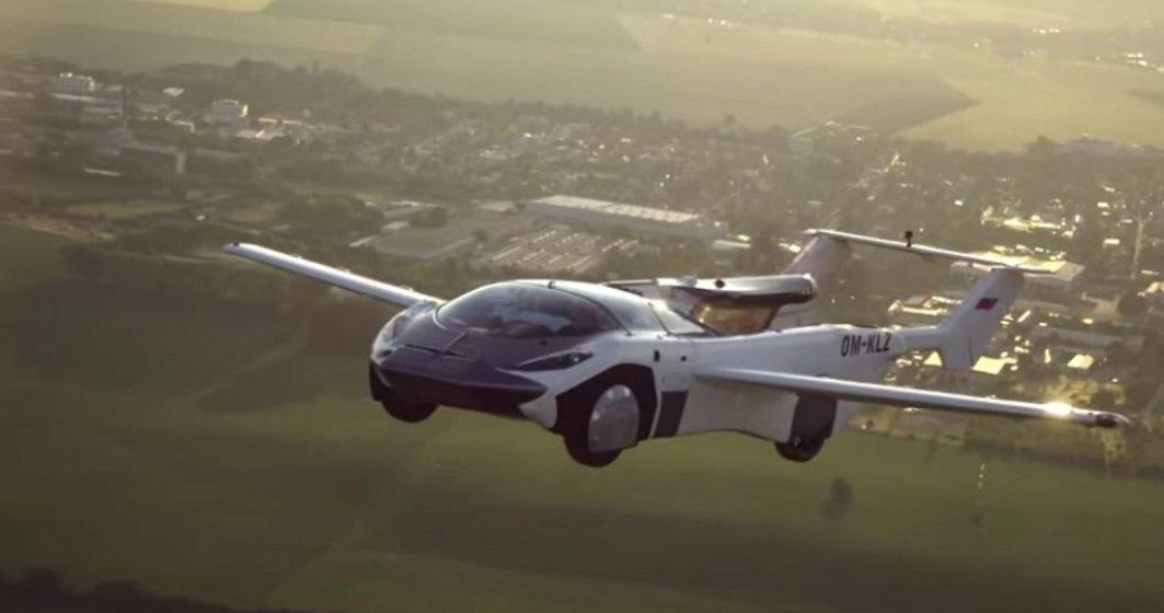 Mașina zburătoare care a zburat între două aeroporturi din Slovacia