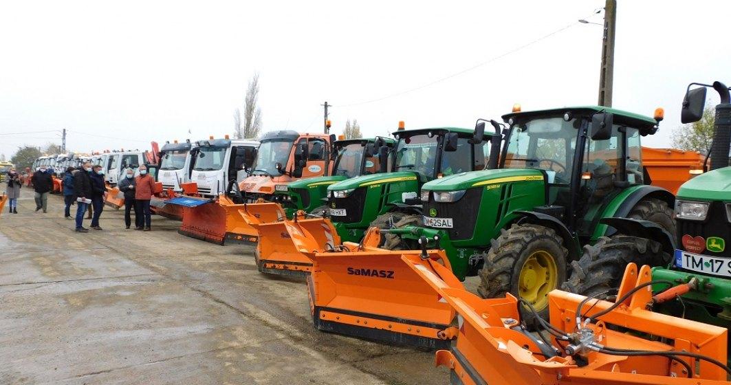 Primăria București spune că e gata să înfrunte zăpada