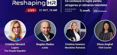 Reshaping HR: Ce contează în lupta pentru atragerea și reținerea talentelor