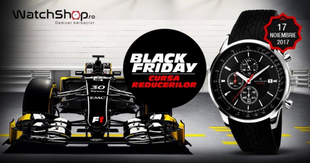 Ceasuri originale la 1 leu: Oferta Black Friday 2017 la WatchShop.ro