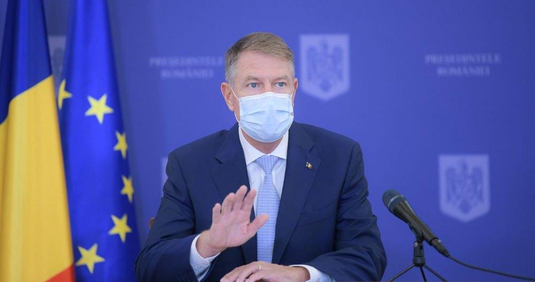 Klaus Iohannis: Vă îndemn să veniți în număr cât mai mare la vot