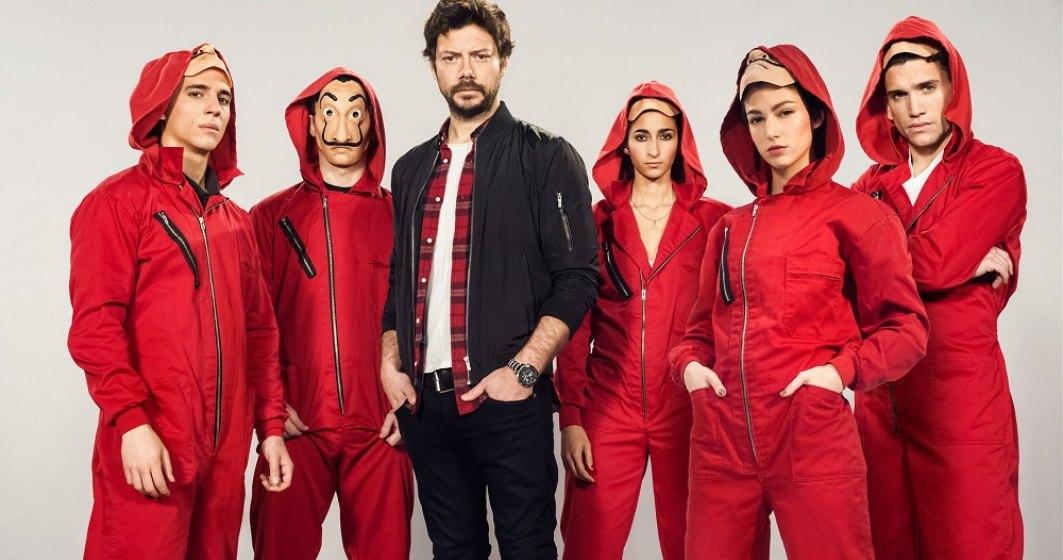 """Câte sezoane va mai avea serialul """"Casa de Papel"""" de pe Netflix"""