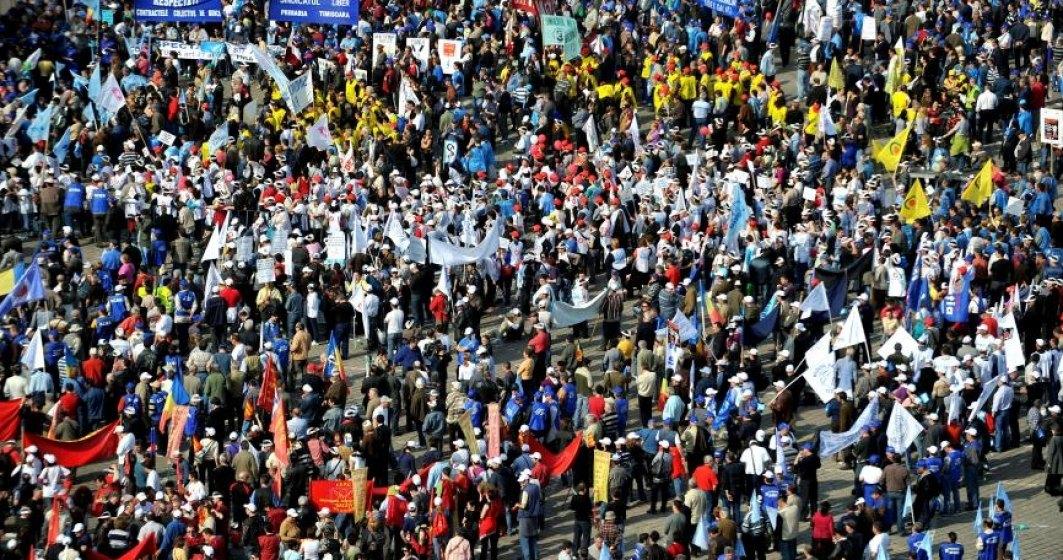 Greva generala in economie. CNSLR - Fratia anunta declansarea protestelor