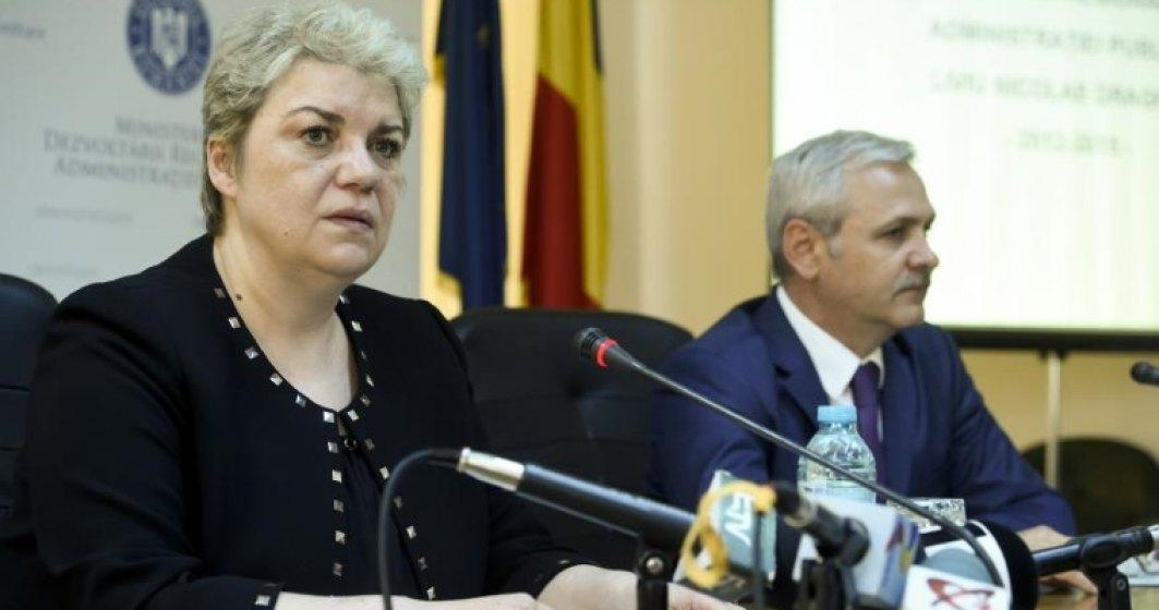 Sorin Grindeanu i-a delegat atributiile de premier lui Sevil Shhaideh pe timpul vizitei sale in SUA