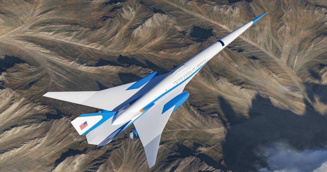 FOTO   Cum va arăta noul Air Force One supersonic și cabinele sale