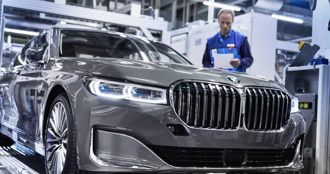 Noul BMW Seria 7 Sedan a intrat in productie la uzina BMW Group din Dingolfing