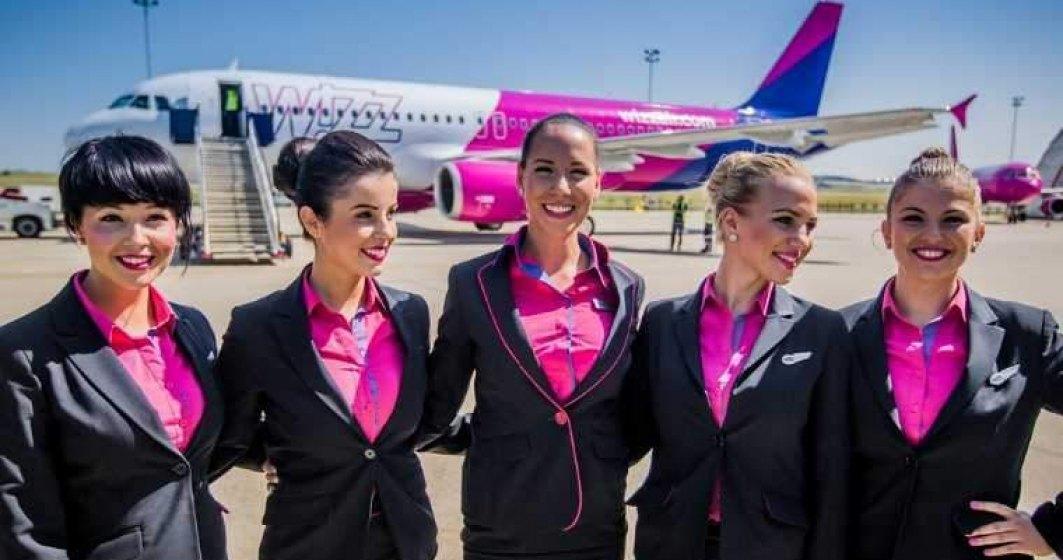 Wizz Air organizeaza sase sesiuni de recrutare in luna noiembrie in Romania