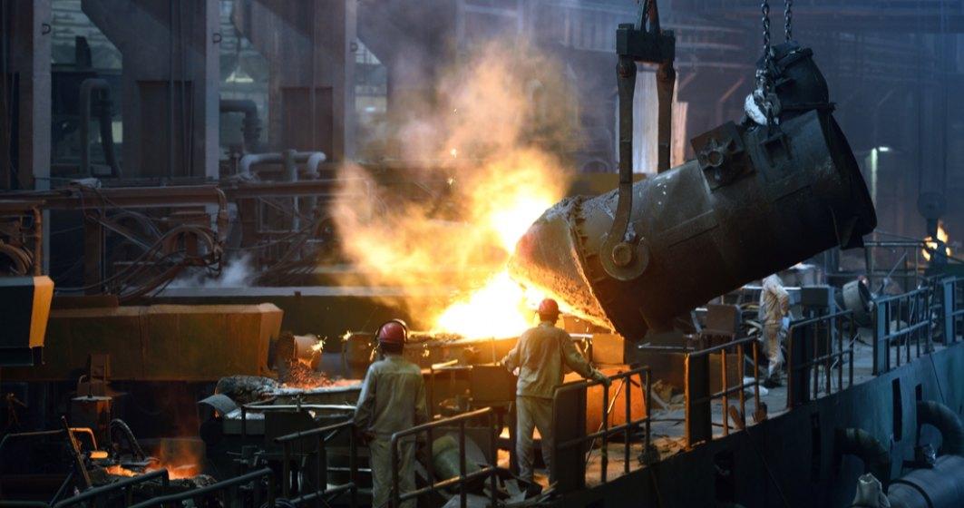 INS: Producția industrială a crescut cu 12,7% în primele opt luni ale anului
