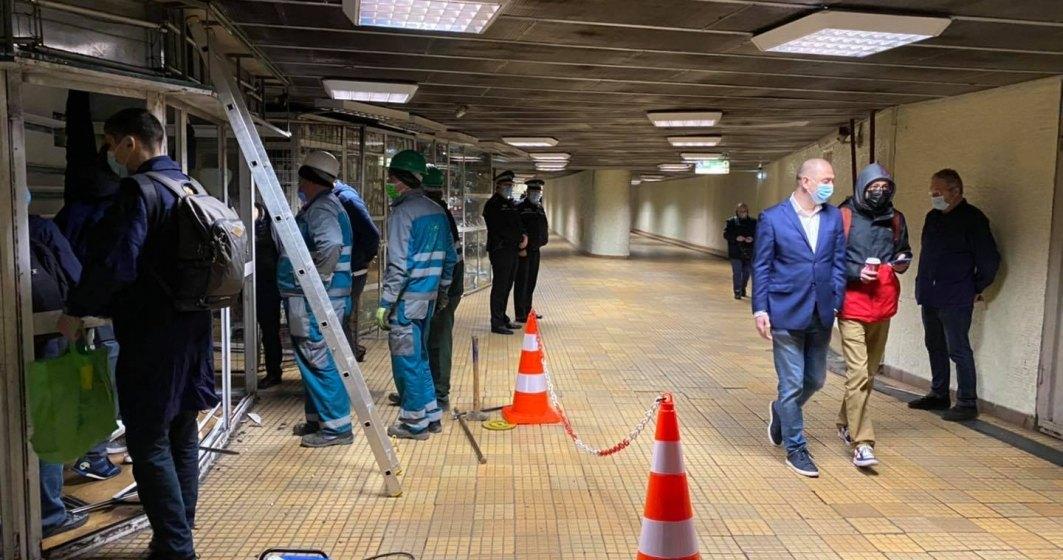 Soluţii pentru comercianţii care îşi desfăşurau activitatea în chioşcurile de la metrou