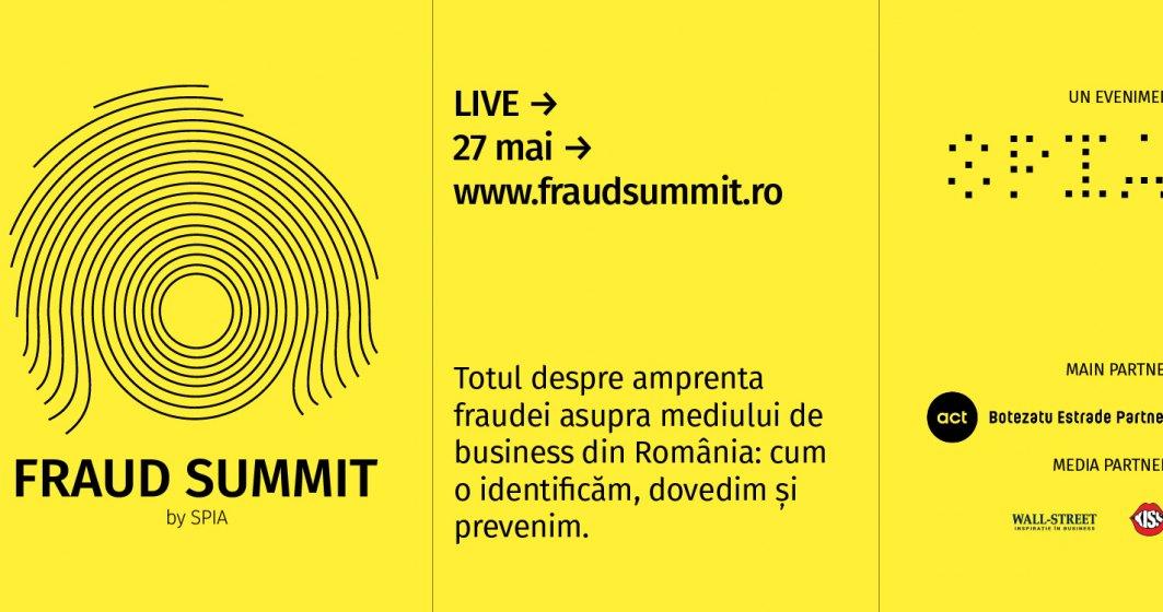 (P) Cum combatem frauda în mediul de business. Primul Summit antifraudă organizat din România